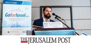 J-Post- ISRAELI LIFE SCIENCE INNOVATION ON SHOW AT PRESTIGIOUS SWISS FORUM
