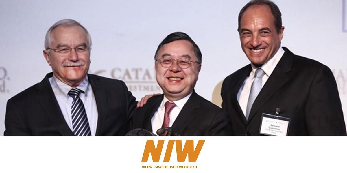 'Er komt nu meer Chinees dan Amerikaans dur apitaal naar Israël'